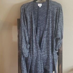 Heather blue Lindsay Cardigan size Medium